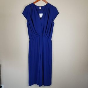 NWT A By Amanda Cropped Wide Leg Jumpsuit